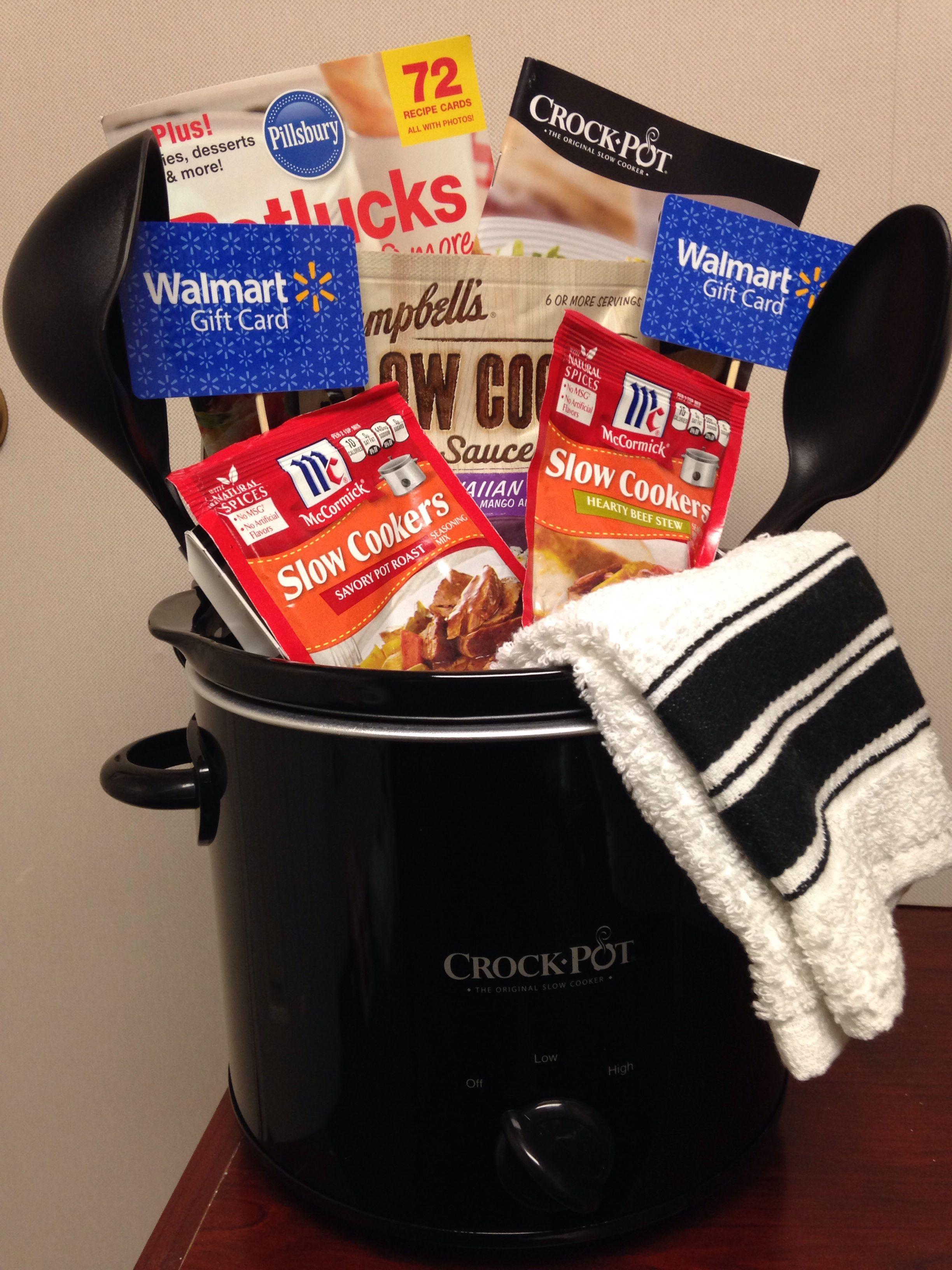 Pinterest Success Crock Pot Basket For Raffle