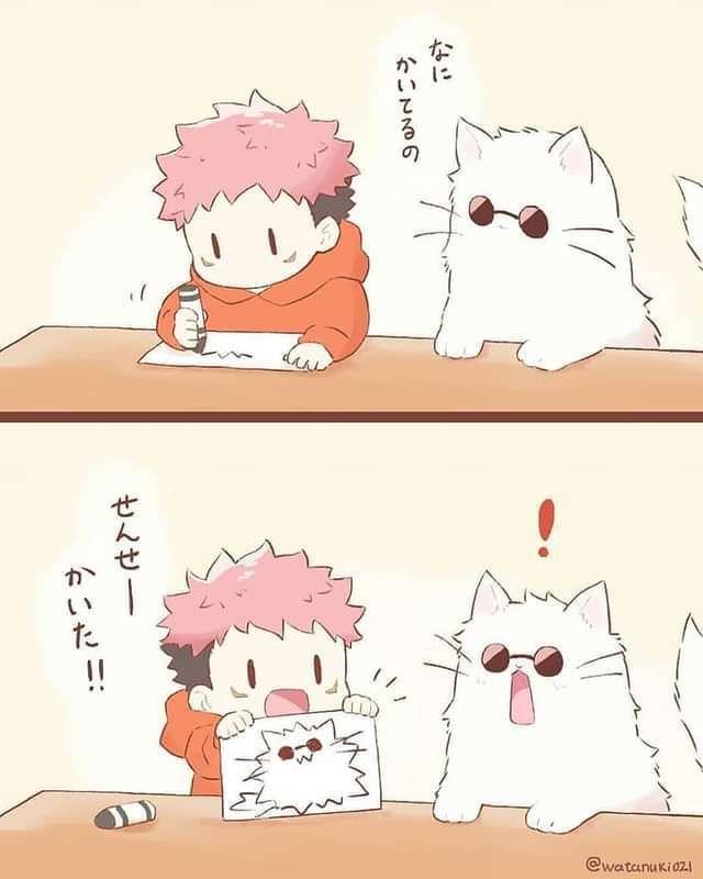 Jujutsu Kaisen Oneshots - Cat! Gojo Satoru x Reader [Part 2]