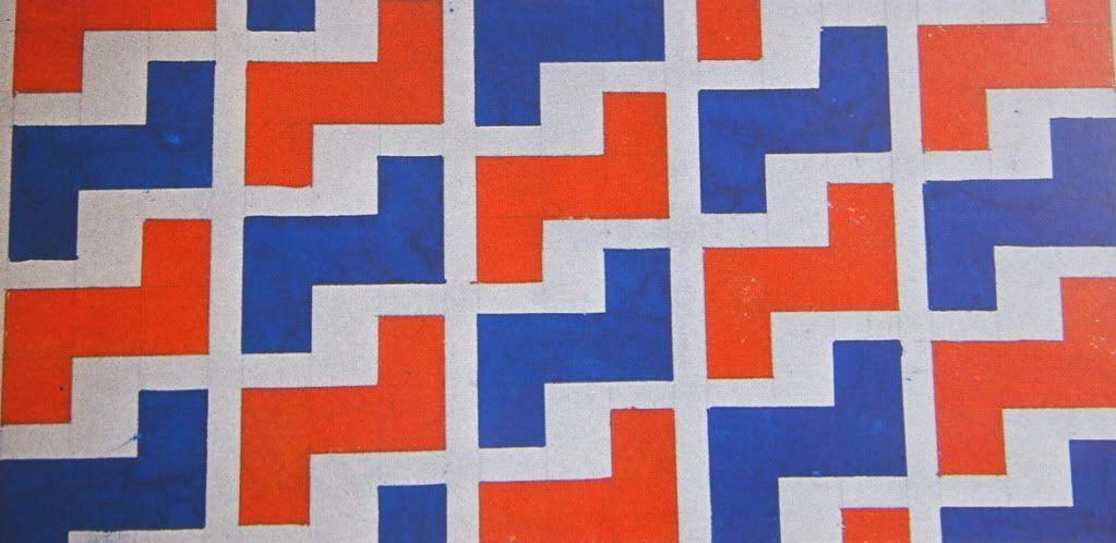 Varvara Stepanova fabric design