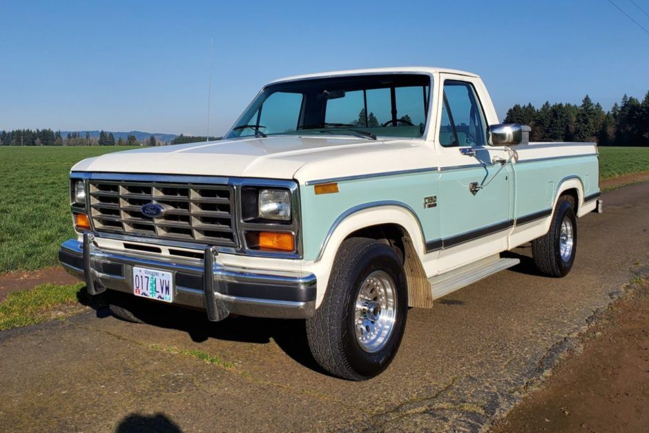 No Reserve 1982 Ford F 150 Xl In 2020 Ford F150 Ford Classic