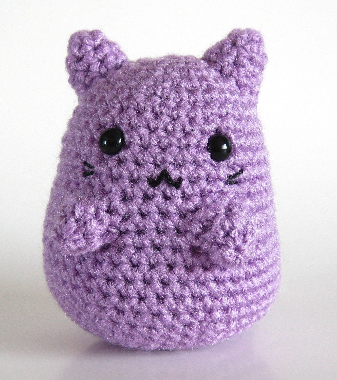 Lavender Chubby Kitty!