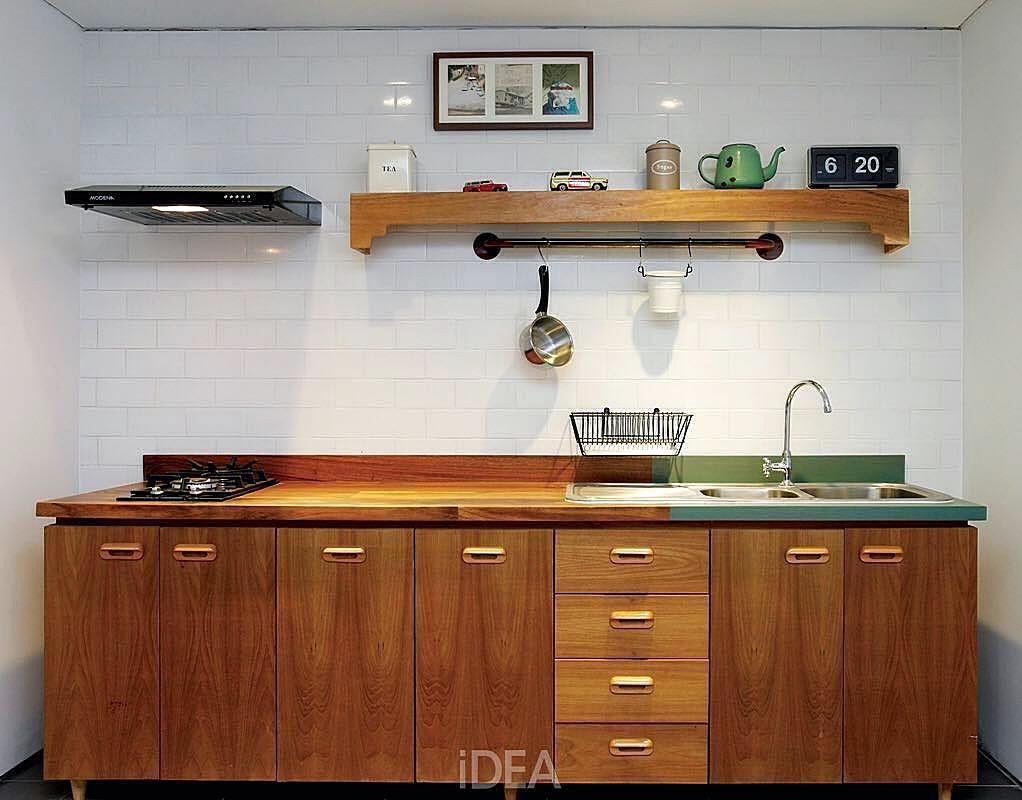 Gambar kitchen set sederhana