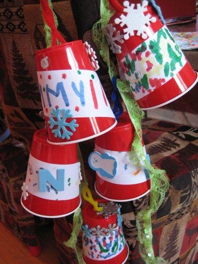 Lavoretti Di Natale Classe Seconda.Lavoretti Natale Per La Scuola Primaria Lavoretto Natale Per La Scuola Primaria Decorazioni Natale Artigianato Campane Di Natale Kids Crafts
