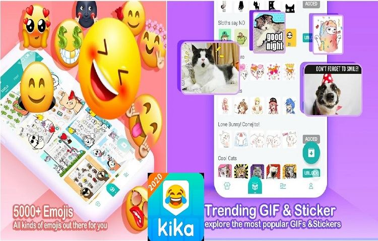Top 10 Best Free Emoji Apps For Android Users Kika Keyboard In 2020 Free Emoji Android Apps Emoji