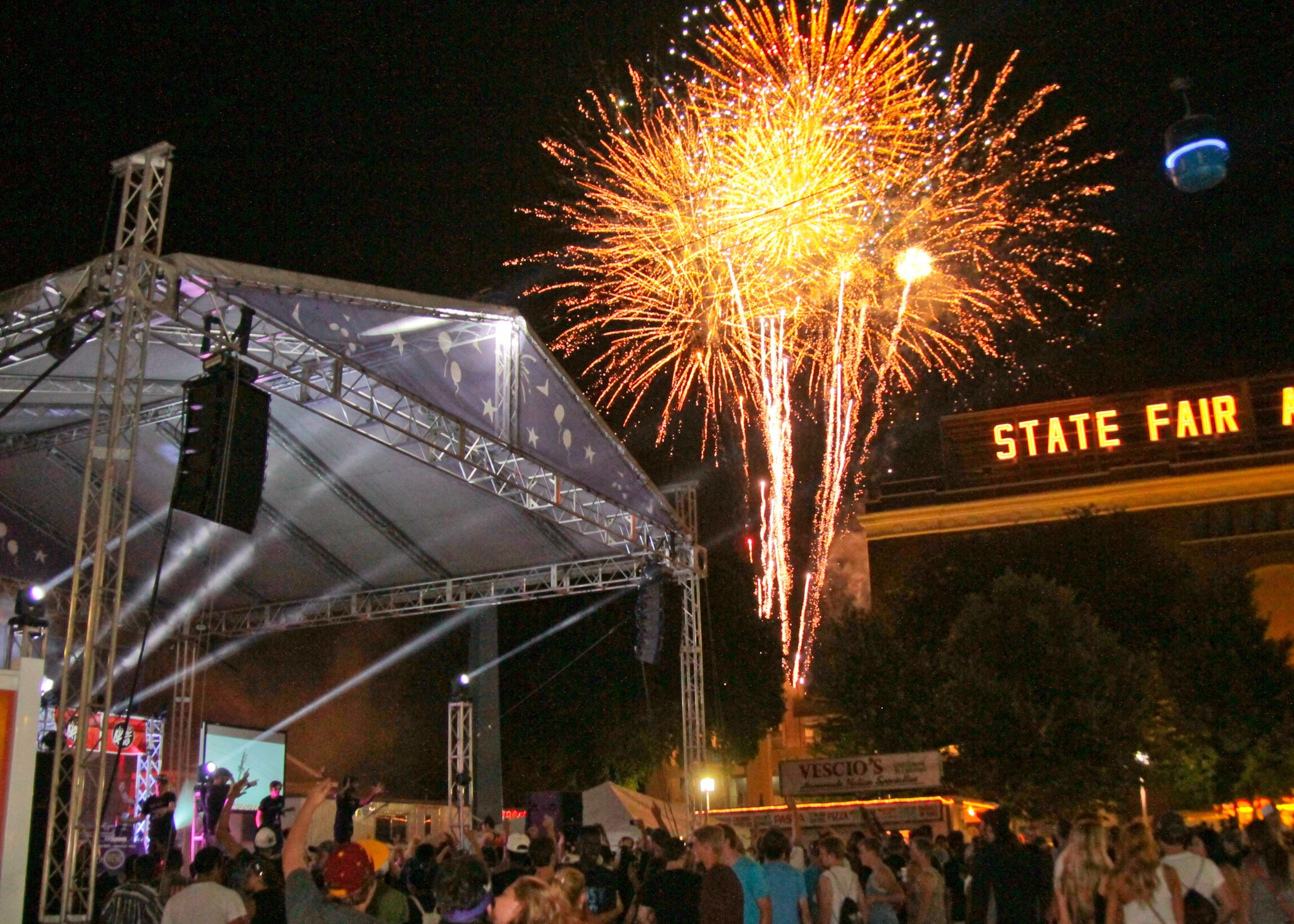 fireworks behind the show | GenNOW to Perform for the 4th Straight Year at The MN State Fair