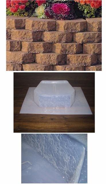 Retaining Wall Block Concrete Molds Concrete Diy Concrete Yard Retaining Wall Block
