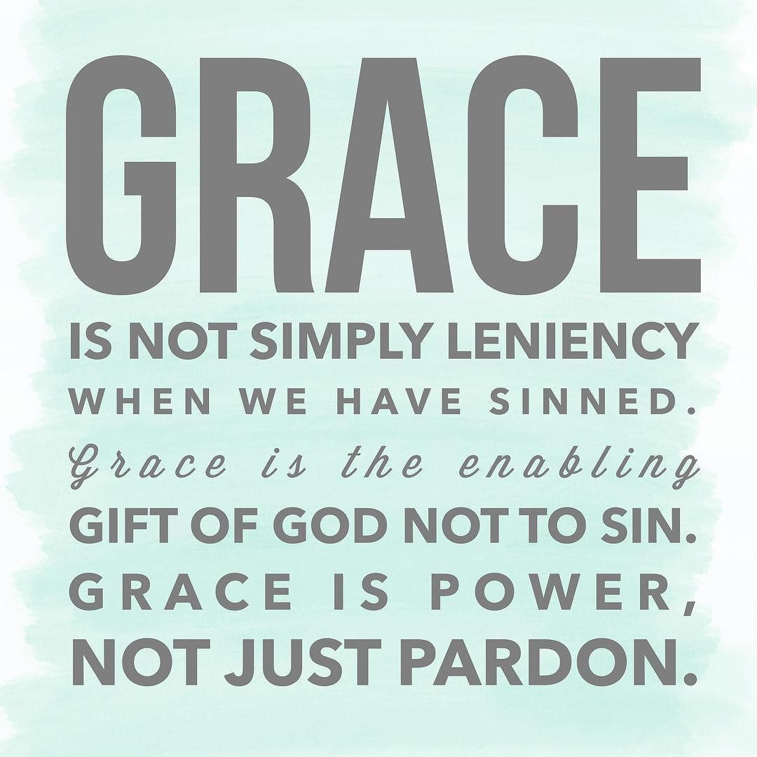 God's Grace Quotes Inspiring Quote From John Pipergrace Is Pardon But It's Also