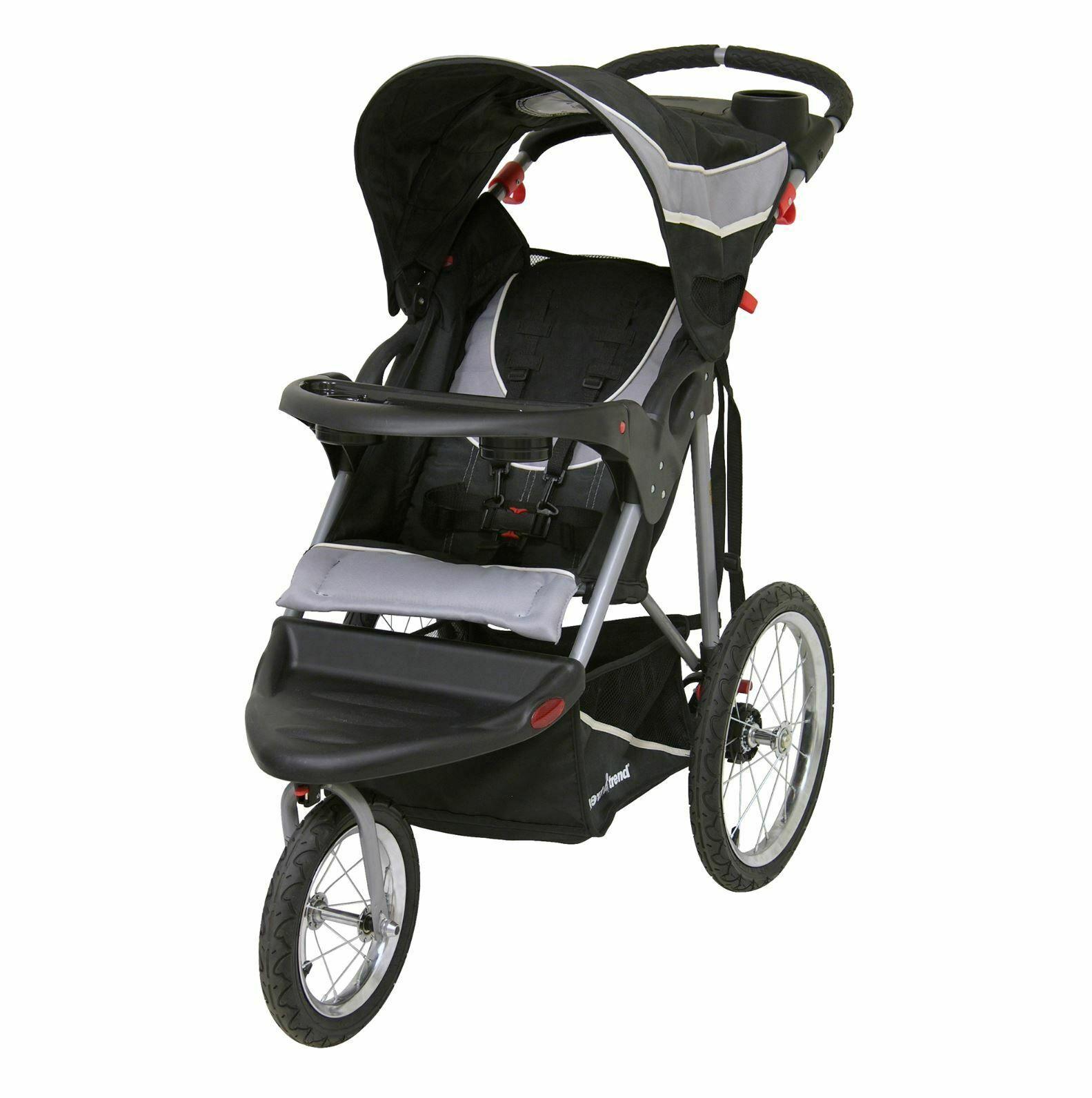 Baby Trend Stroller For Jogging Running All Terrain Tires