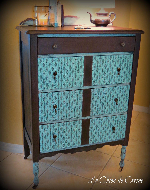 Vintage Retro Style Dresser