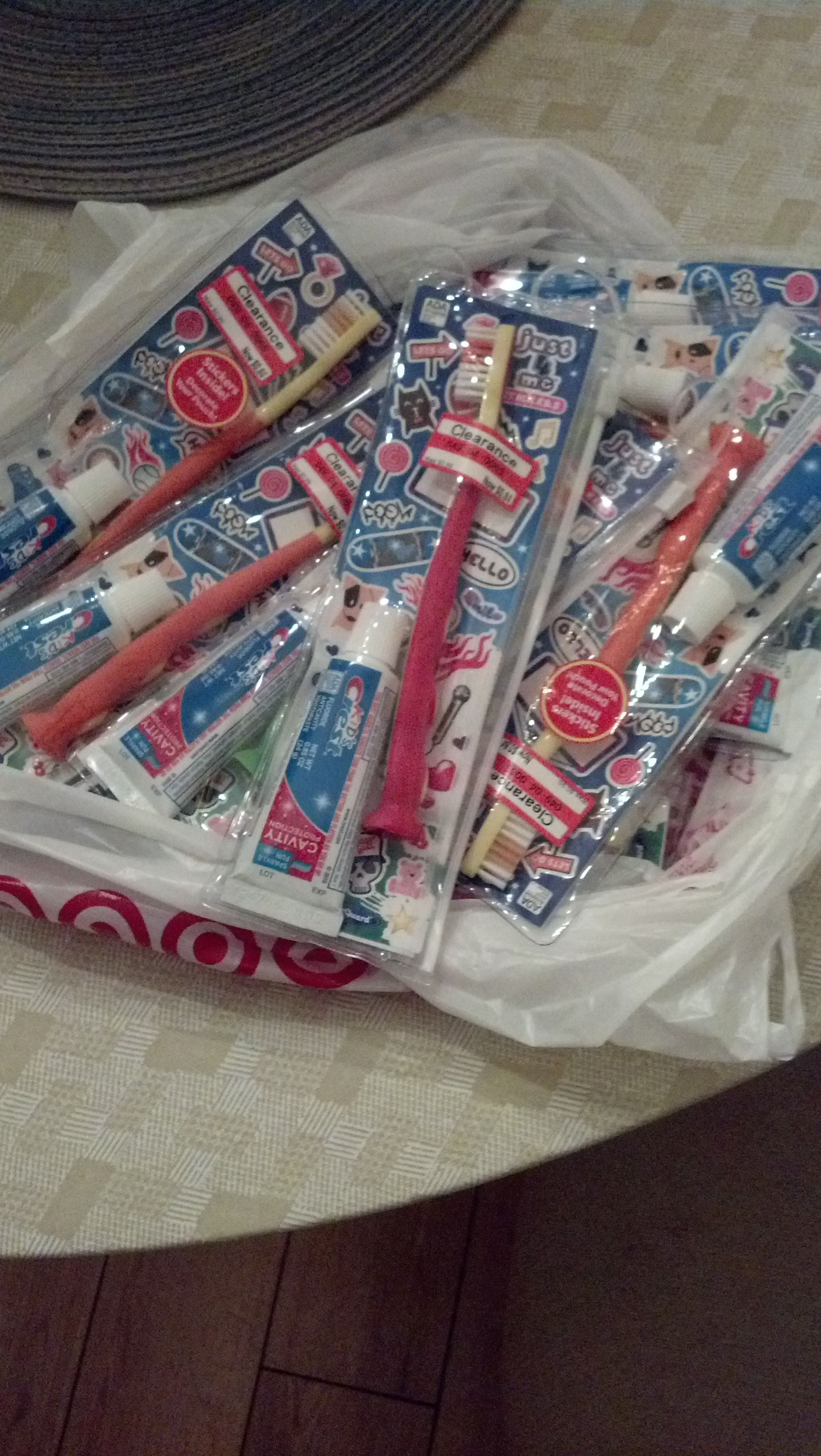 Found These At Target On Clearance Today 89 Cents Toothbrush,