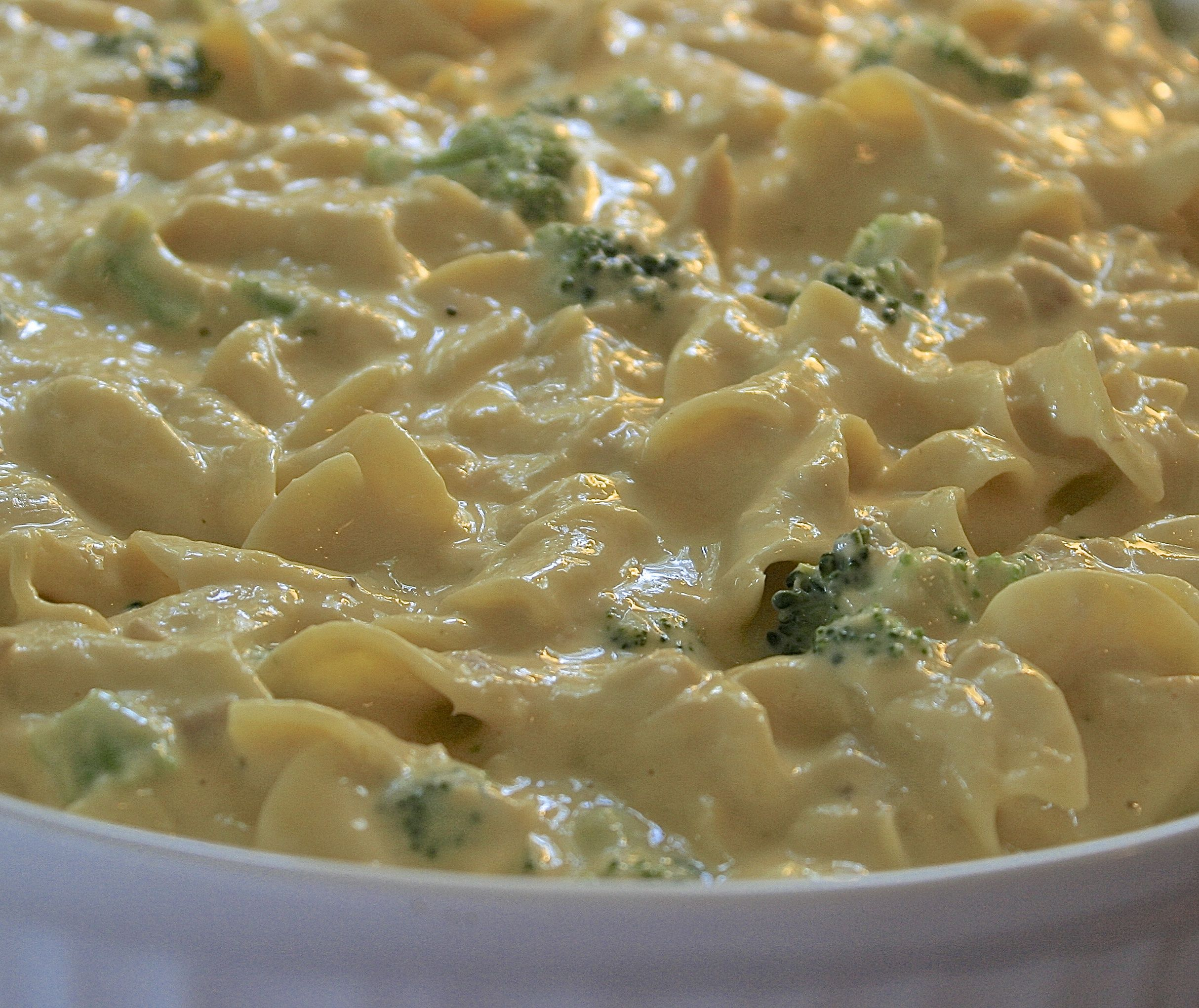 kid-approved super cheesy tuna noodle casserole with fresh