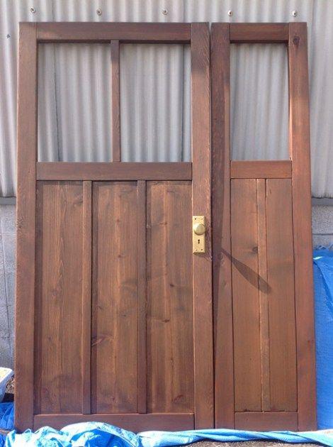 どきどきdiy 木製玄関ドアを手作りする まとめ編 玄関ドア Diy 玄関ドア リノベーション 玄関