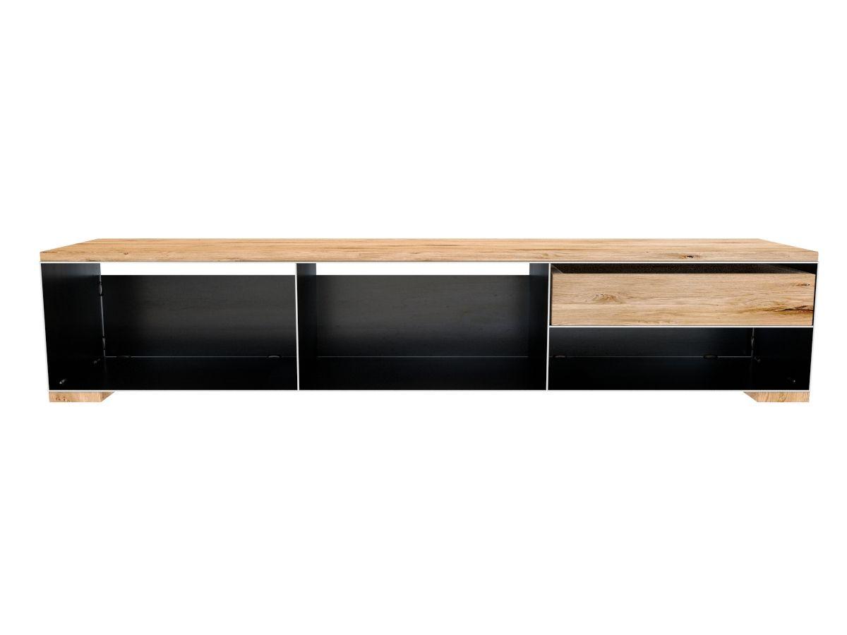 Lowboard Metall Modern Lowboard In Stahl Und Holz Lowboard