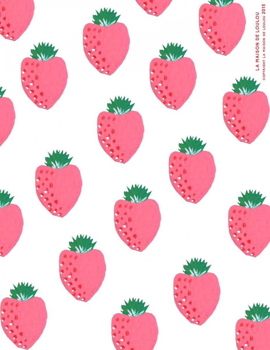 FREE Printable Strawberry Wrapping Paper | FREE Printables ...