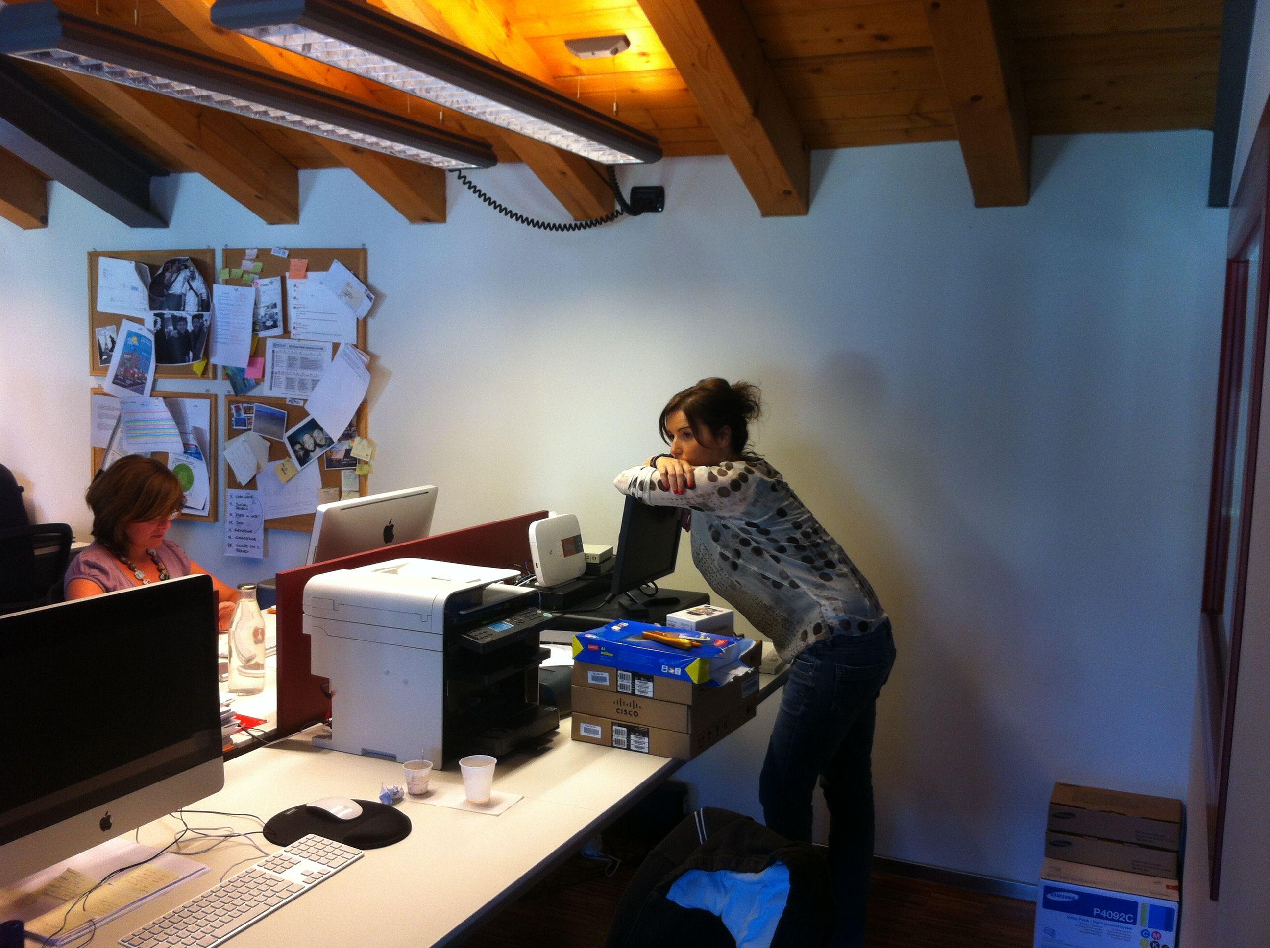 Debora | More @ www.mocainteractive.com  #work #office