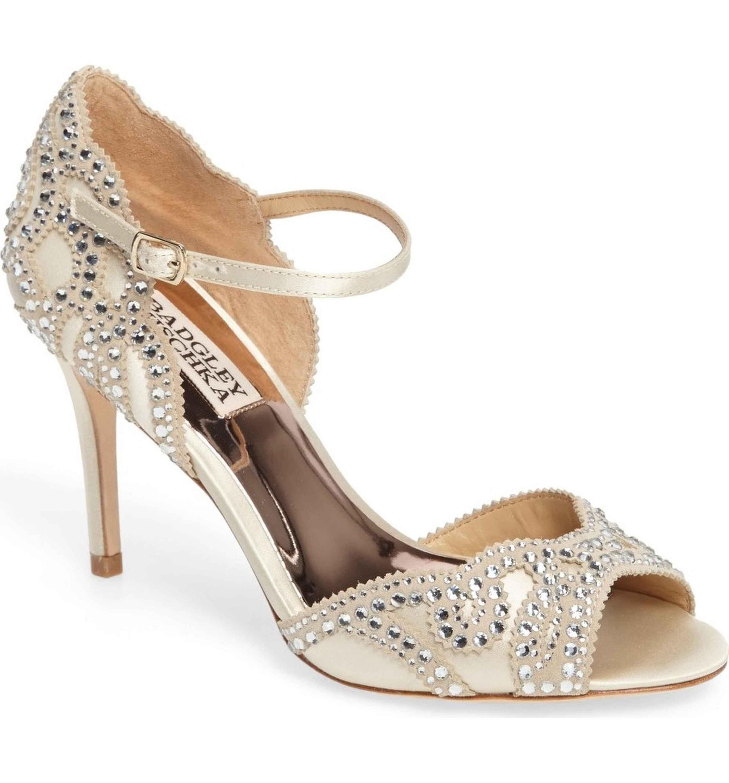 Bridal Shoes At Nordstrom: Badgley Mischka Belinda Ankle Strap Pump (Women