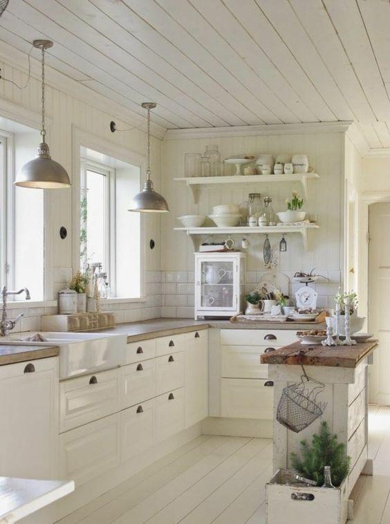 4 ambiances déco pour une cuisine blanche et tendance ...