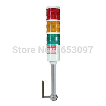 Hntd 50 L Rod Type 24v Often Bright 3 Color With Buzzer Led Indicator Light Cnc Machine Tool Working Warning L Cnc Machine Tools Led Indicator Indicator Lights