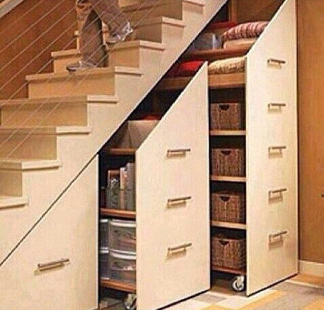 treppe organized pinterest treppe unter der treppe. Black Bedroom Furniture Sets. Home Design Ideas