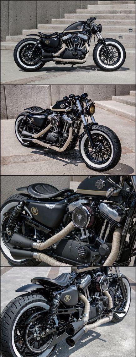 Harley Davidson Sportster #HarleyDavidson #GreaseGarage #Sportster #Custom