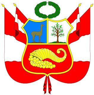 Social Site El Escudo Nacional Peruano Peru All Flags Flag