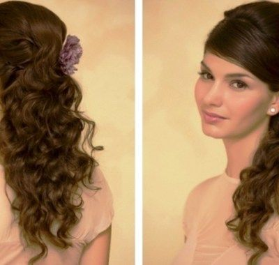 Easy Prom Hairstyles Easy Prom Hairstyles For Long Hair To Do At Home  Hairstyles Ideas