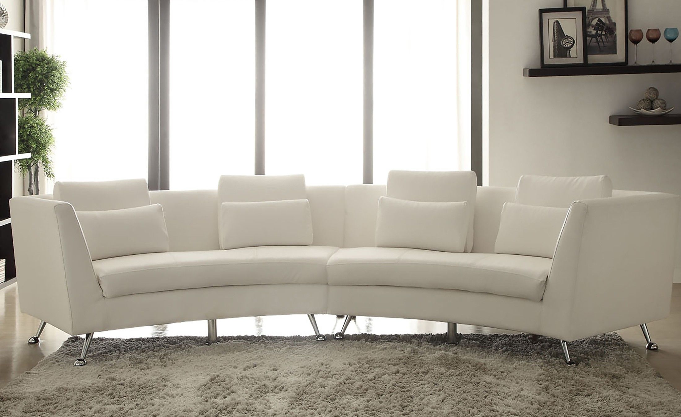 AC Pacific Jagger Symmetrical Power Recline Sectional Sofa Set