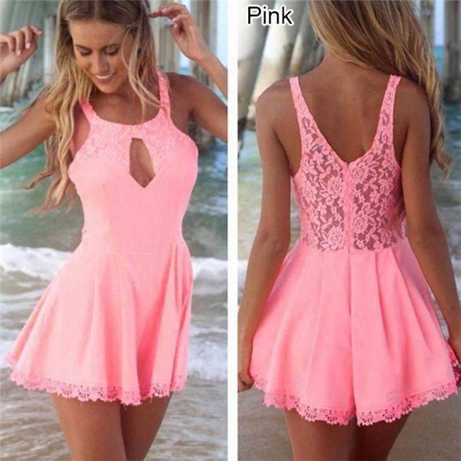 Summer-Stylish-Women-Celeb-Lace-Evening-Party-Playsuit-Romper-Jumpsuit-Dress-LJ