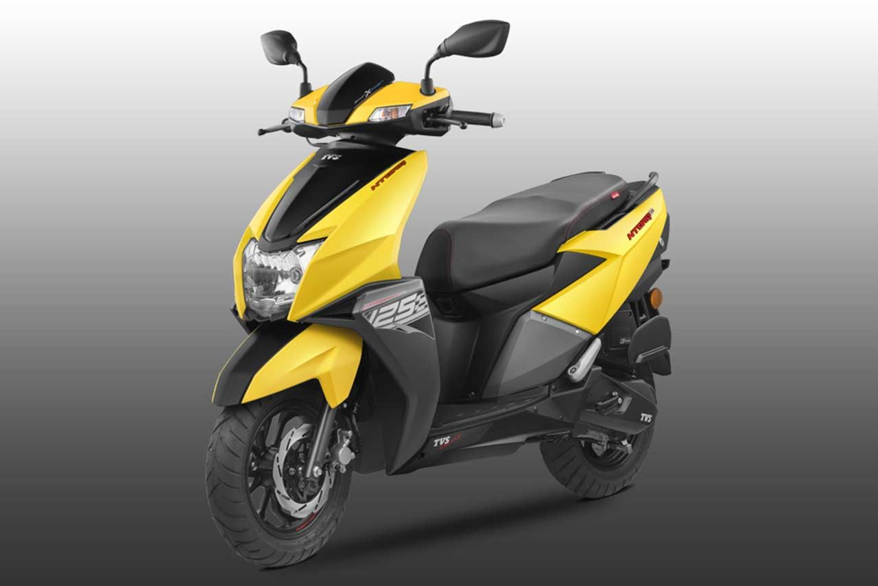 The All New Tvs Ntorq 125 Scooter Has Been Launched In India At A