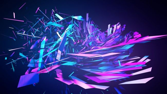 Download 1920x1080 Hd Wallpaper Crystal Debris Polygon Desktop