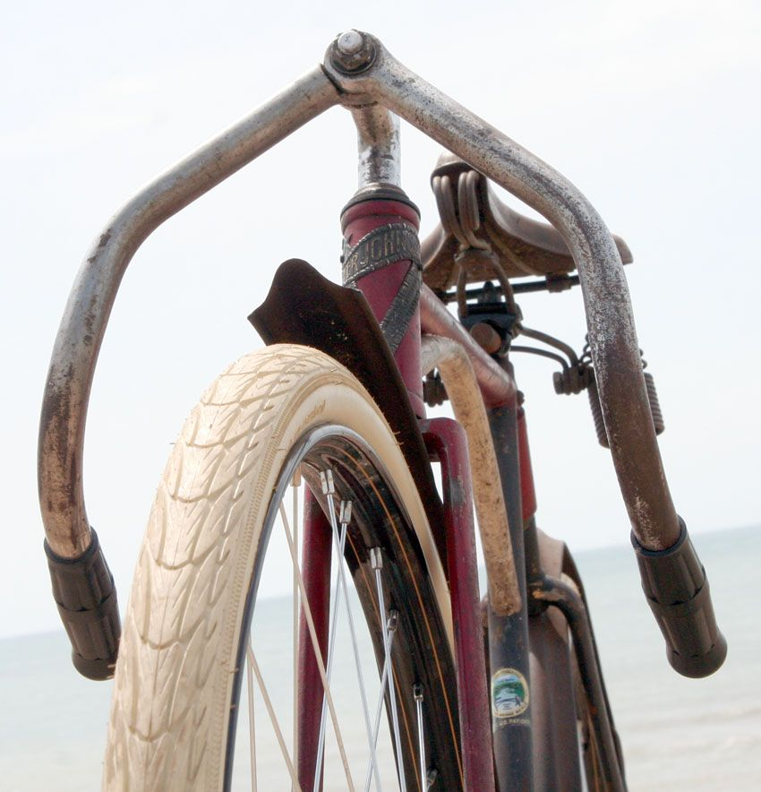 1917 Iver Johnson Cushion Truss Frame Track Racer The Online Bicycle ...