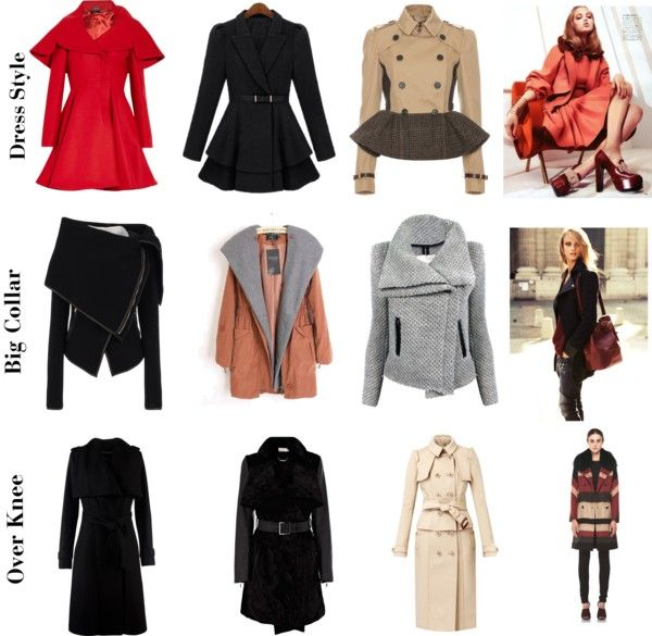 """The Coat Trends"" by lili-he on Polyvore"