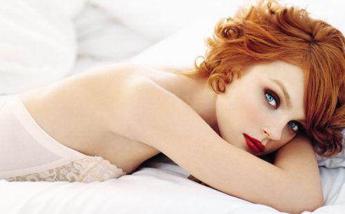 Redhead shower sex