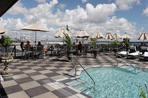 Bon Market Pavilion Hotel Rooftop Bar Charleston S.