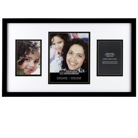 3 Opening Collage Frame By Studio Decor In Black Michaels Collage Frames Frame Decor