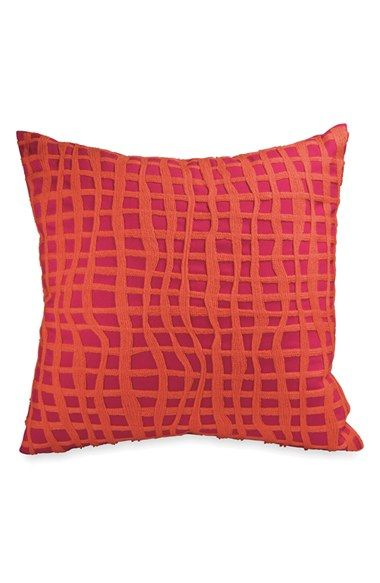 DKNY Colorblock Square Throw Pillow | Throw pillows, Red