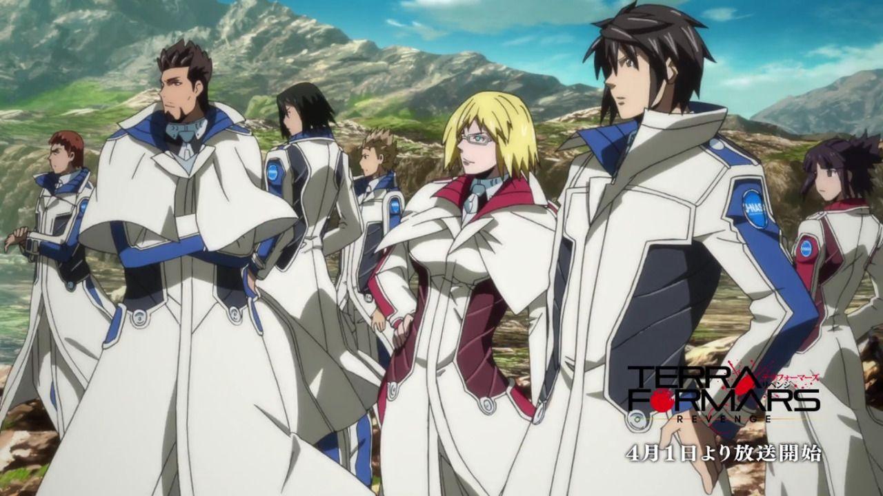 Disponible El Opening Del Anime Terra Formars Revenge Shomin