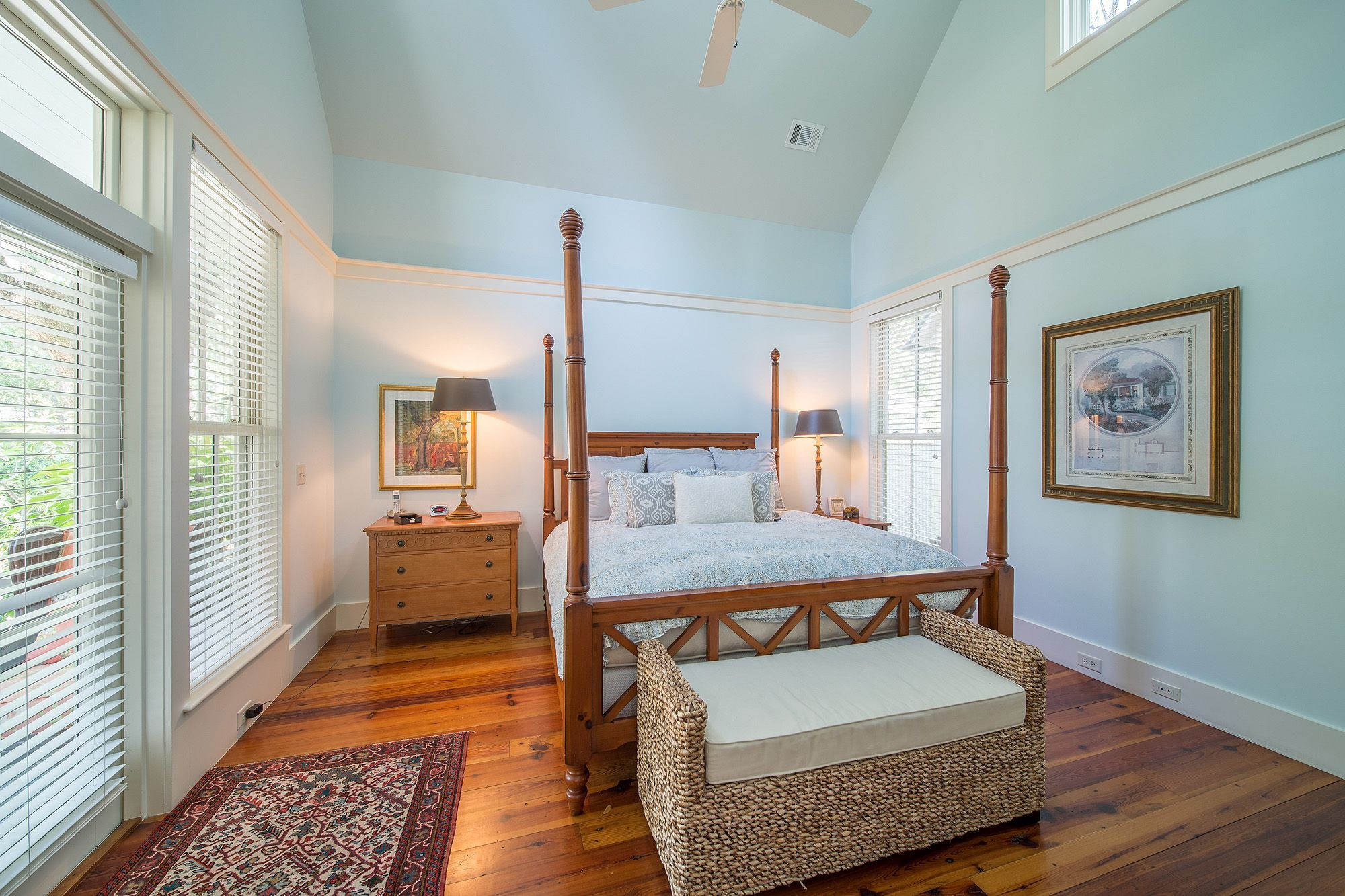 Guest Bedroom Inspiration - Southern Style Interior Design - Bedroom