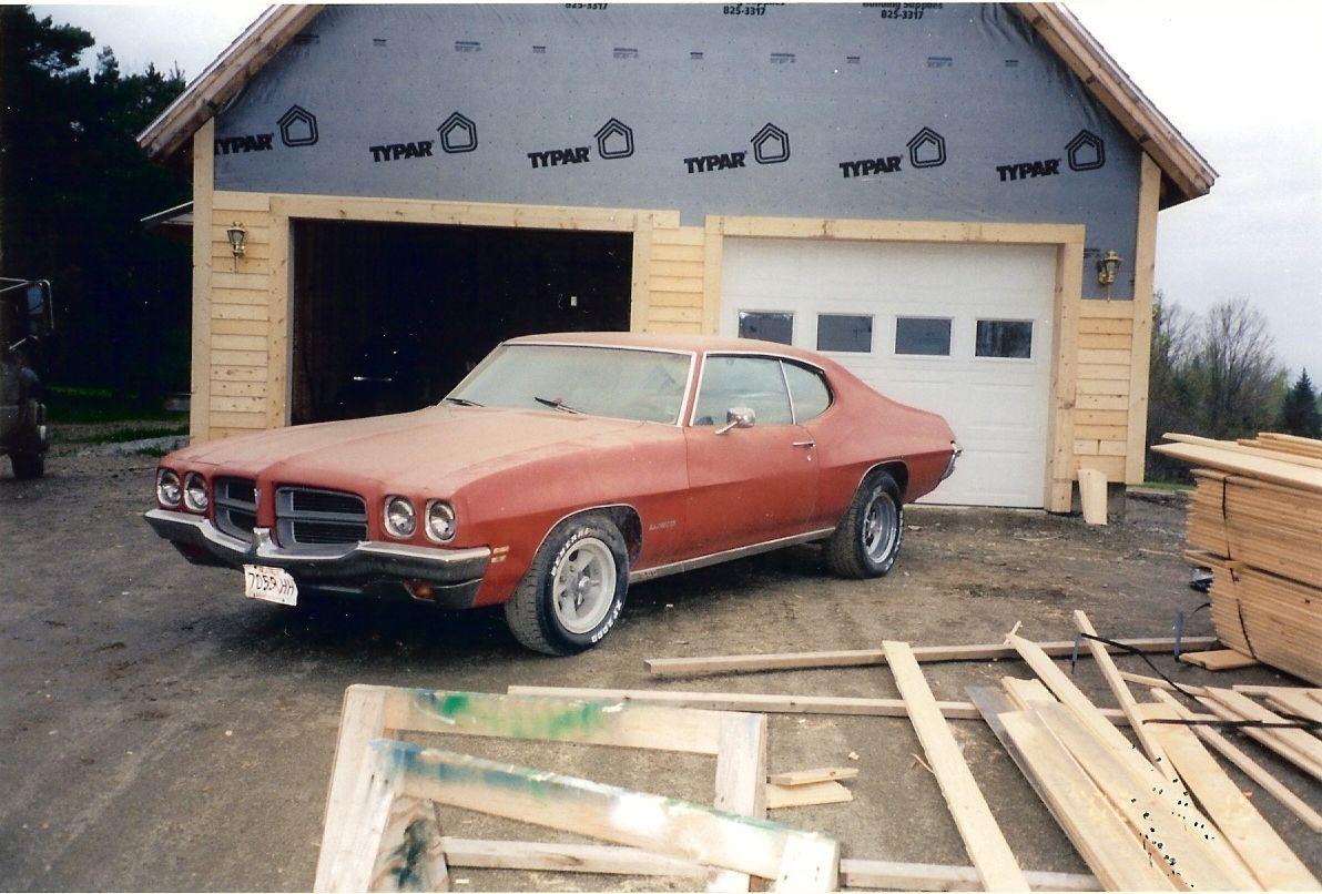 Barn Finds 1972 Pontiac Lemans Orange