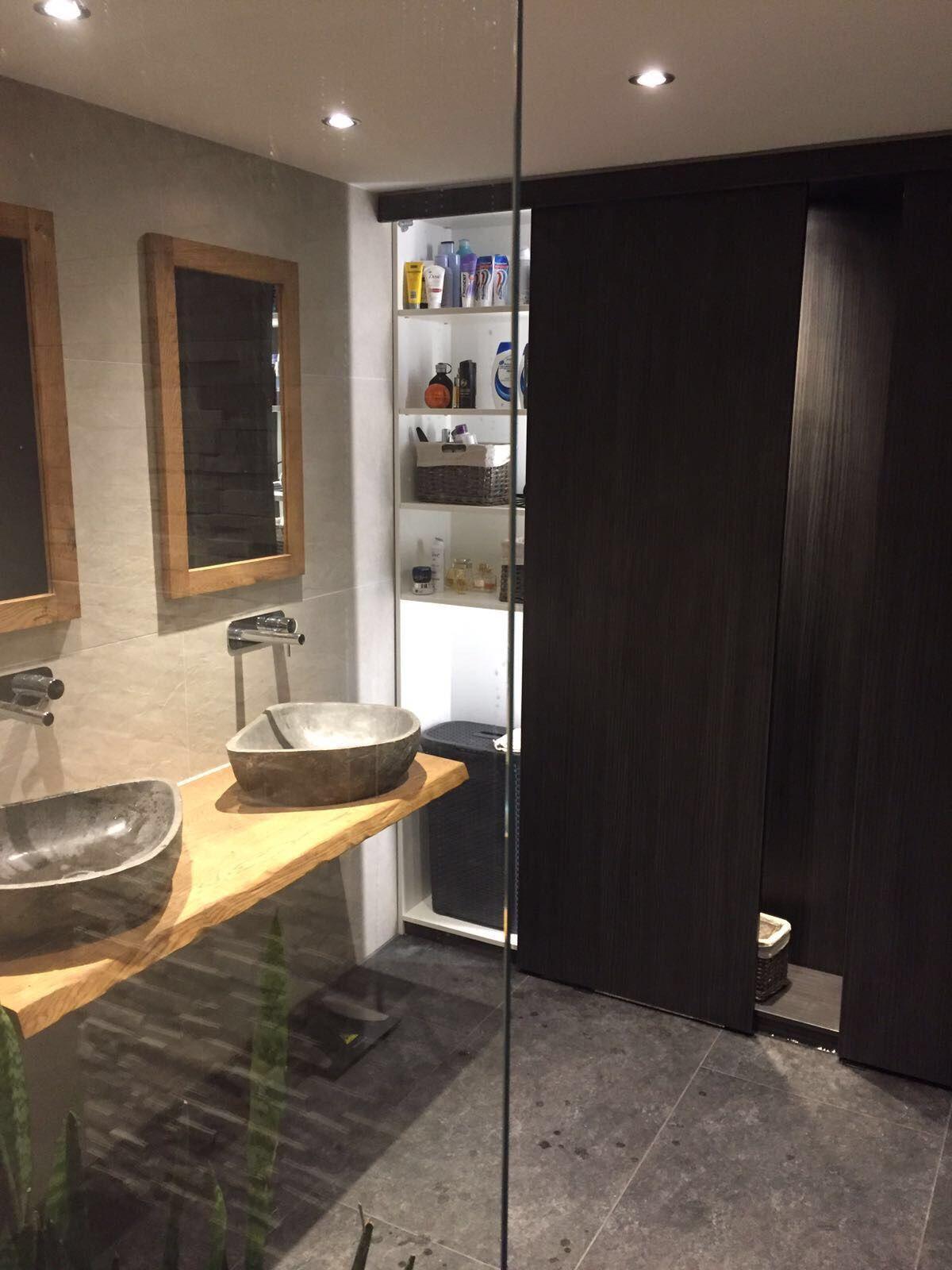 Inbouwkasten in de badkamer door Van Manen Badkamers te Barneveld ...