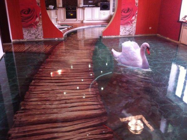 14 Amazing Floors That Look Like Water The Ocean And More Epoxy Floor Designs Epoxy Floor 3d Epoxy Floor