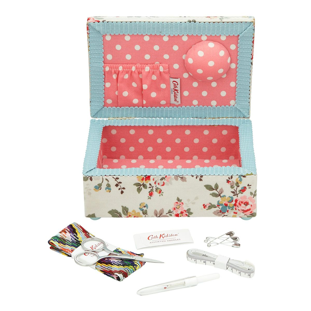 Knitting Sewing Crafts Kingswood Rose Mending Kit Cathkidston