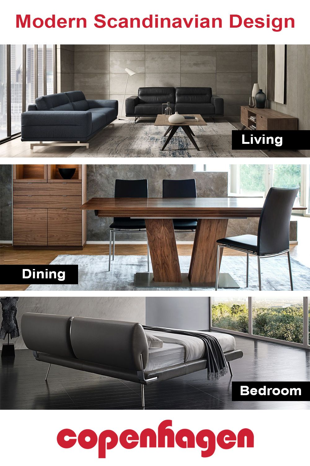 Modern and contemporary furniture accessories and home décor scandinavian design suitable for every lifestyle