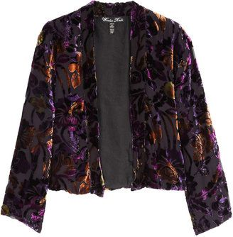 f9021ad615f ShopStyle: Winter Kate Purple Jade Silk Burnout Velvet Jacket ...