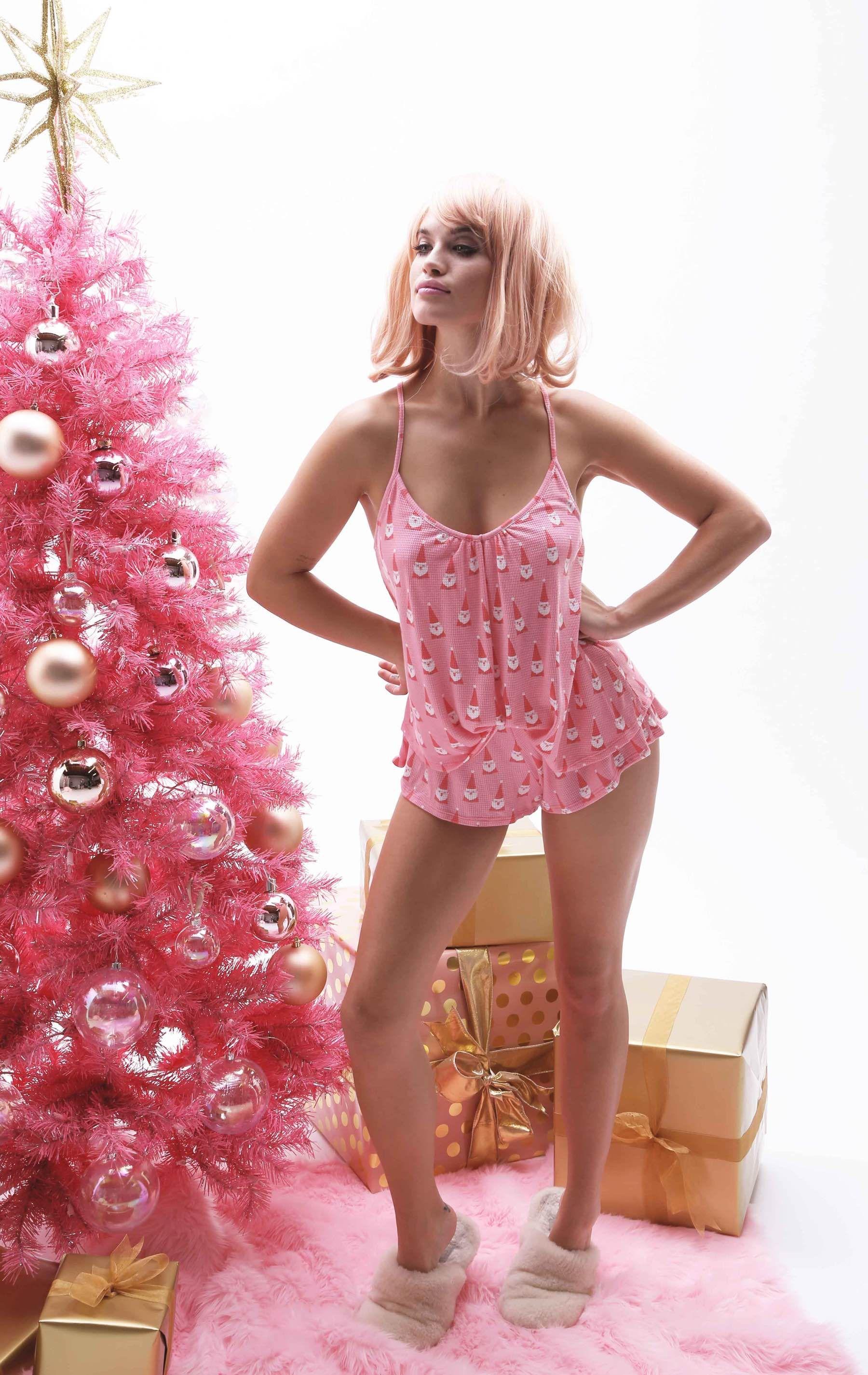 Wildfox Christmas Pajamas.Wildfox Pink Christmas Intimates Pink Christmas Pink
