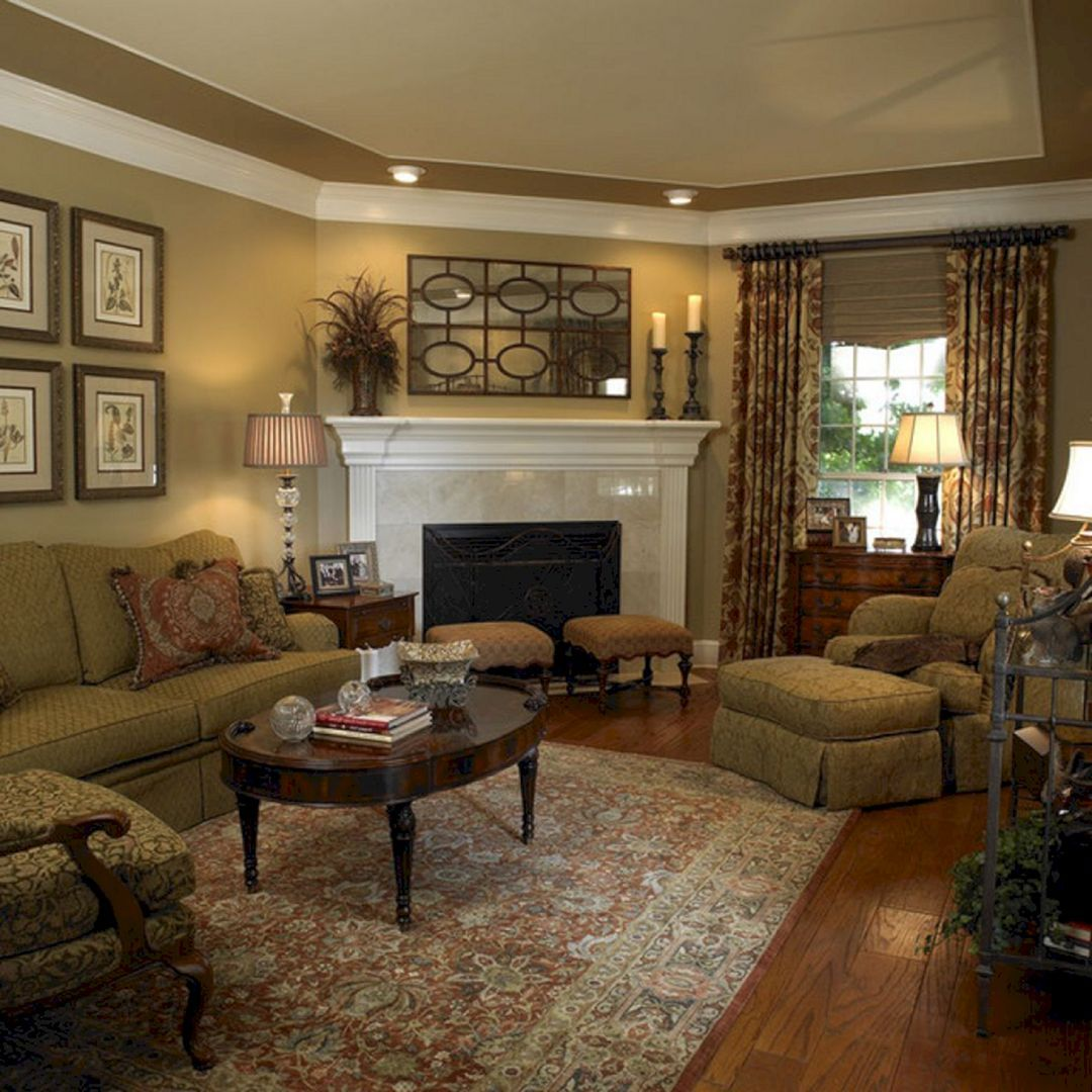 50 Traditional Living Room Design As Your Favorite Place Ideas in Home images