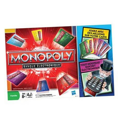 Monopoly Electronic Banking French Edition Walmart Ca Fun Games