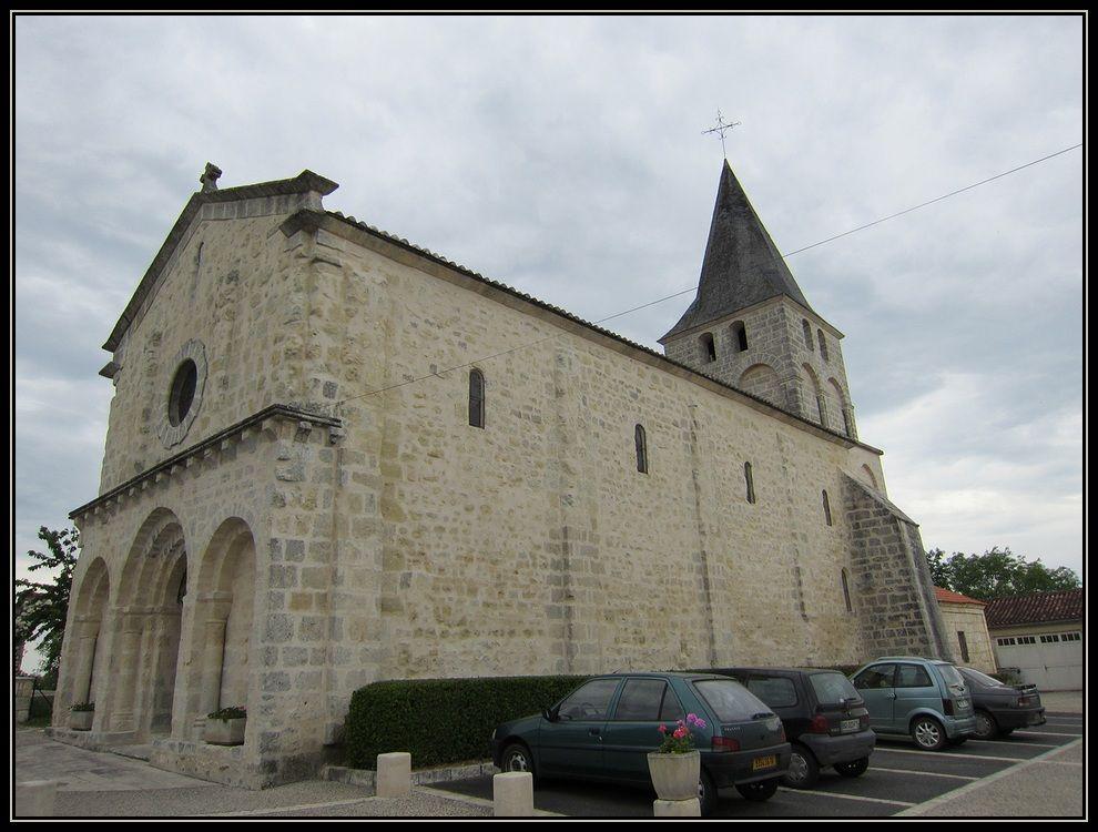L'église Notre-Dame à Gurat