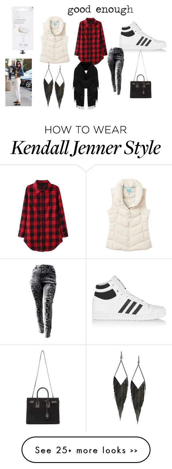 """good enough"" by docmartenslovah on Polyvore featuring adidas Originals, Joules, Yves Saint Laurent, GUESS and Topshop"