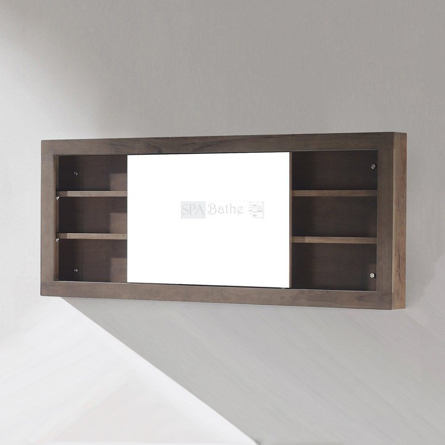 Spa Bathe MC68 Storage Mirrored Cabinet With Sliding Door   Fixture Universe